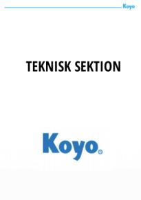 koyo_teksniskkatalog