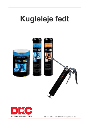 DKC-kugleleje-fedt