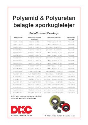 DKC-polyamid-og-polyuretan-belagte-sporkuglelejer
