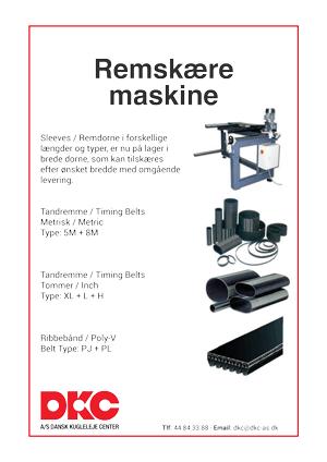 DKC-remskaere-maskine